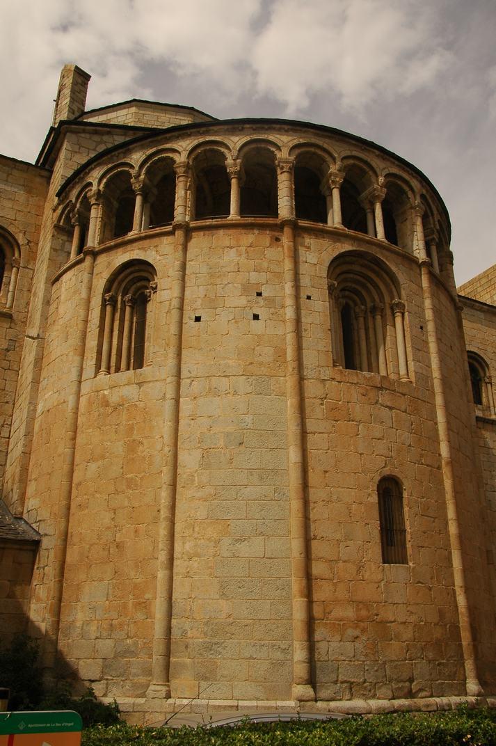 Absis central de la Catedral de Santa Maria de la Seu d'Urgell