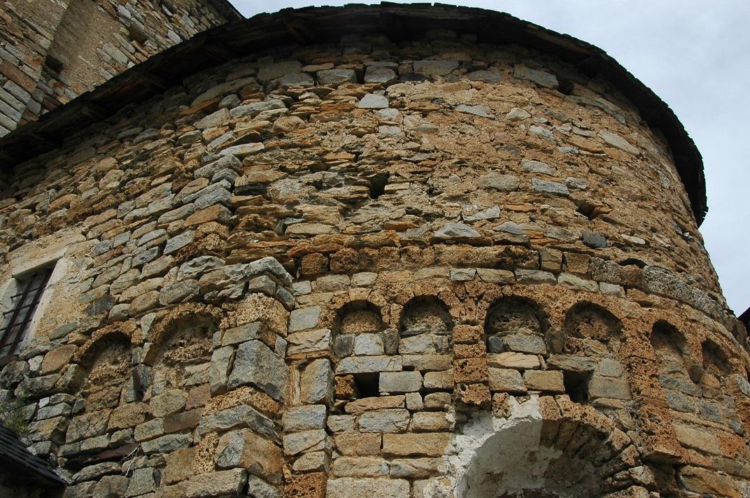 Absis central de l'església de Santa Maria de Cap d'Aran de Tredòs