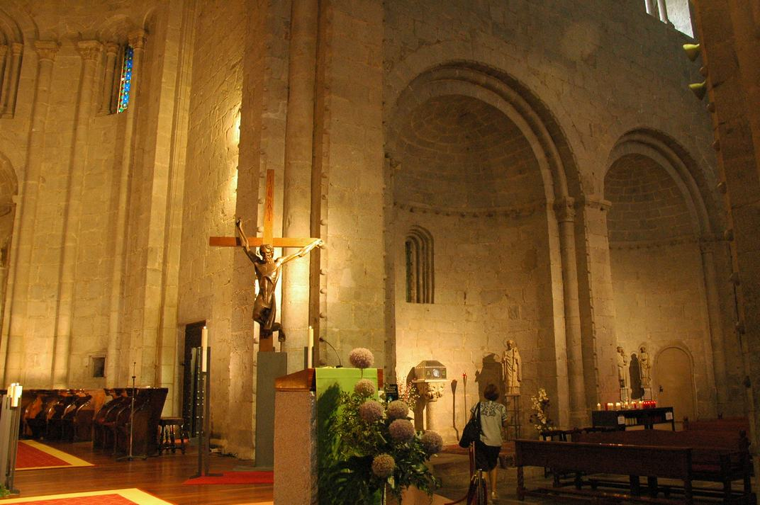 Ala dreta del transsepte de la Catedral de la Seu d'Urgell de Lleida