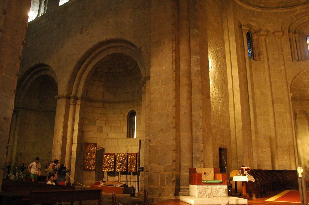 Ala esquerra del transsepte de la Catedral de la Seu d'Urgell de Lleida