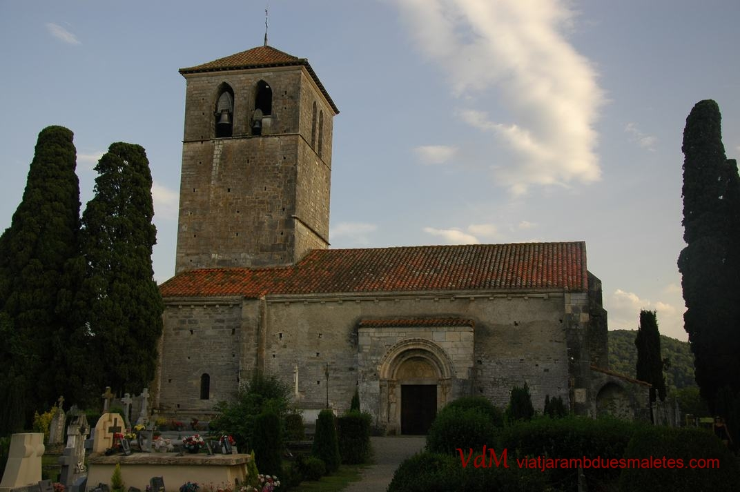 Basílica de Saint-Just i Saint-Pasteur de Valcabrère de Occitània (França)