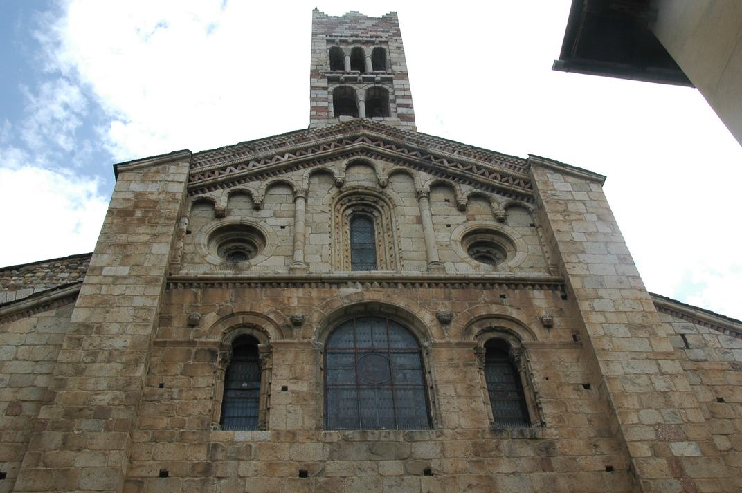 Campanar de la portalada central de la Catedral de Santa Maria de la Seu d'Urgell