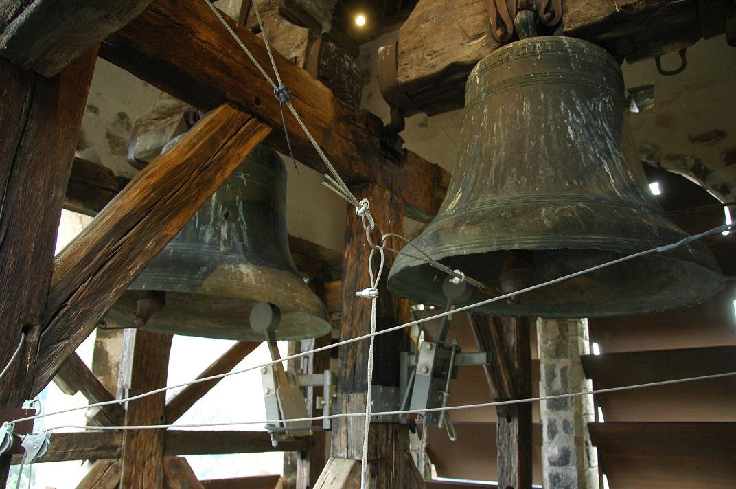 Campanes de la torre de l'església de Sant Fèlix de Vilac