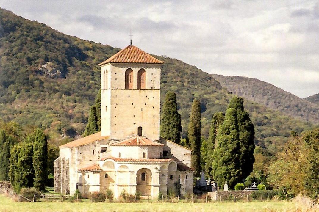 Capçalera de la Basílica de Sant Just de Valcabrère