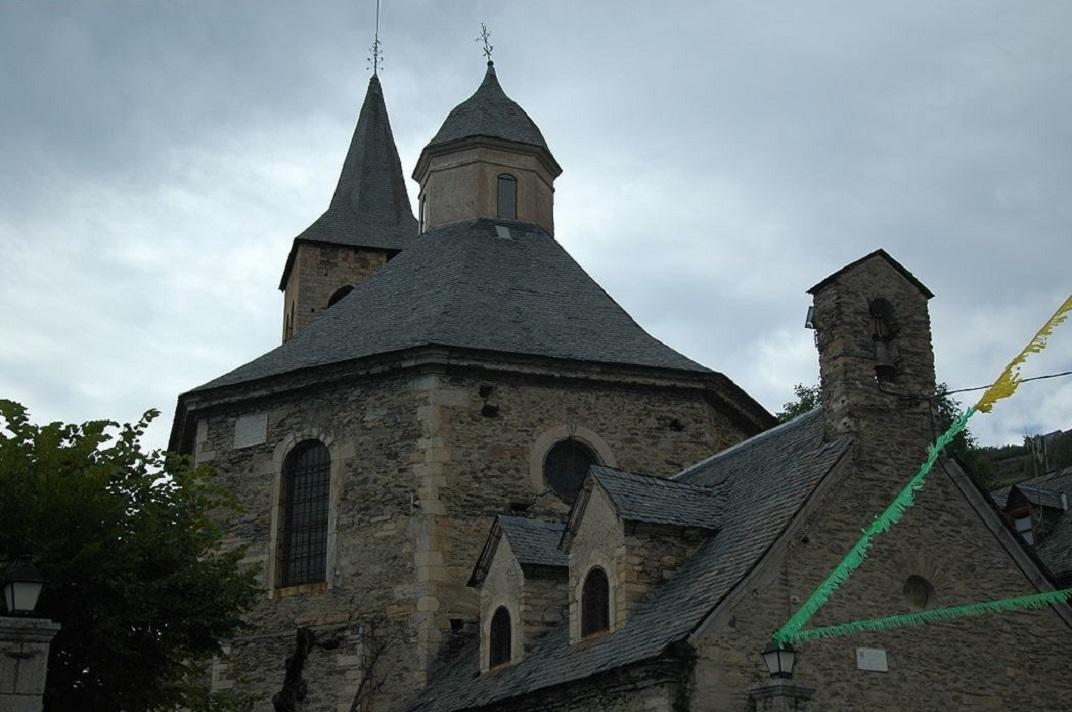 Capçalera de l'església de Sant Fèlix de Vilac