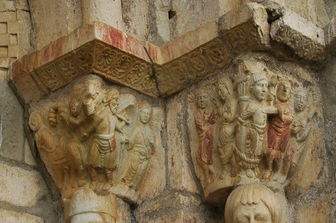 Capitells de la basílica de Sant Just de Valcabrère