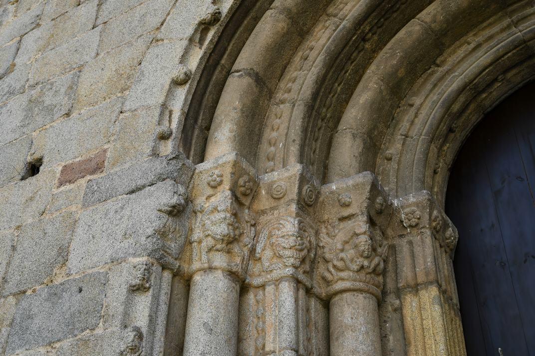 Capitells de la porta nord de la Catedral de la Seu d'Urgell de Lleida