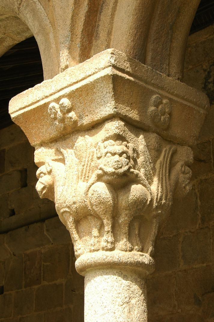 Capitells del claustre de la Catedral de Santa Maria de la Seu d'Urgell