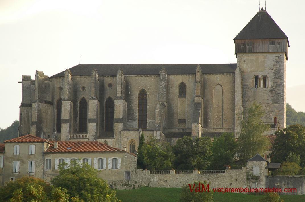 Catedral de Sainte-Marie de Saint-Bertrand-de-Comminges de l'Occitània (França)