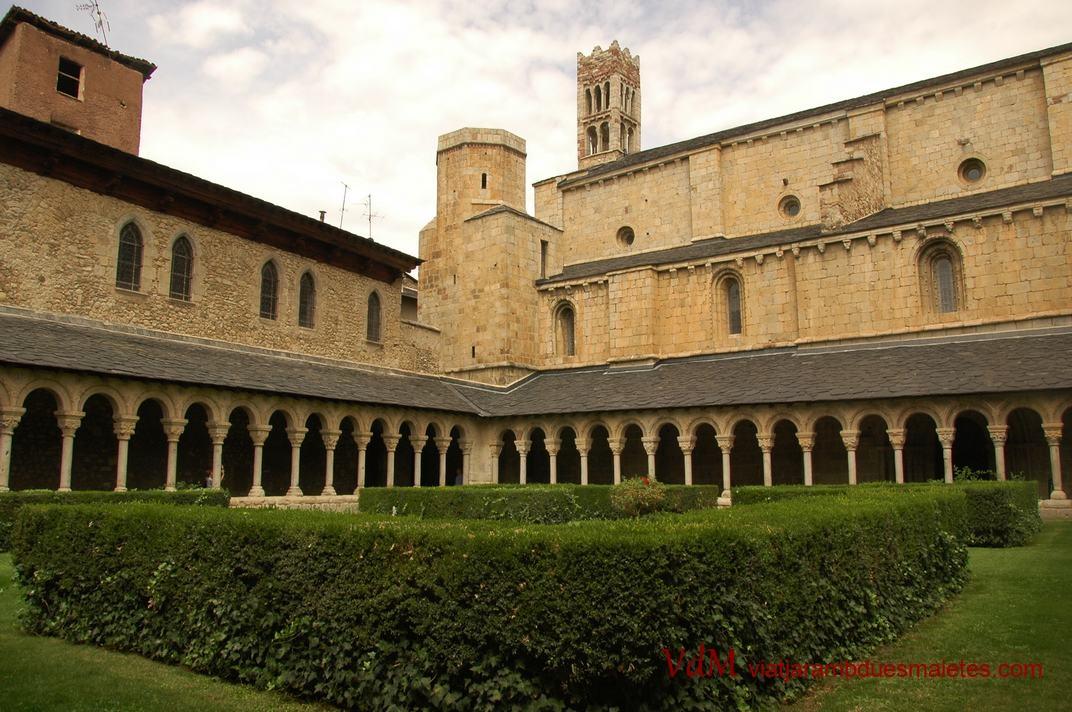 Claustre de la Catedral de la Seu d'Urgell de Lleida
