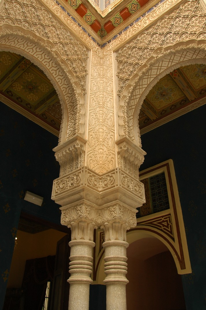 Columnes del Pati del Lleons de La Giralda de L'Arboç