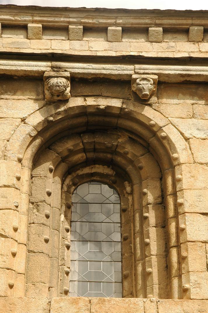 Finestres del claustre de la Catedral de Santa Maria de la Seu d'Urgell
