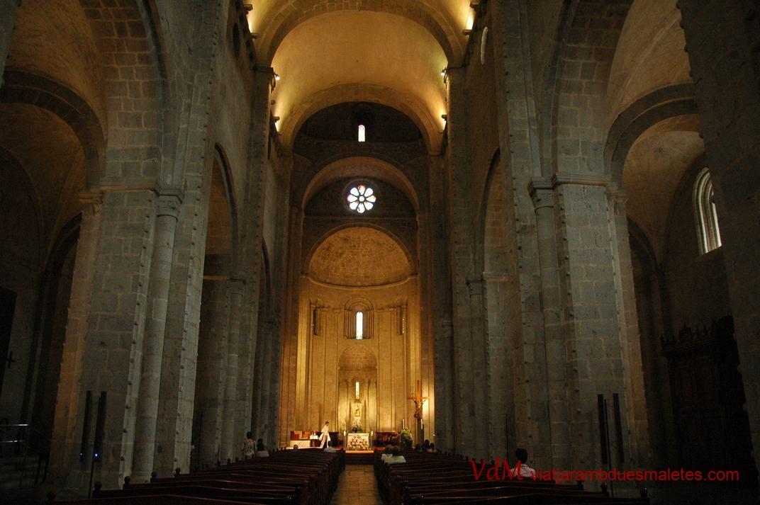 Nau central de la Catedral de la Seu d'Urgell de Lleida