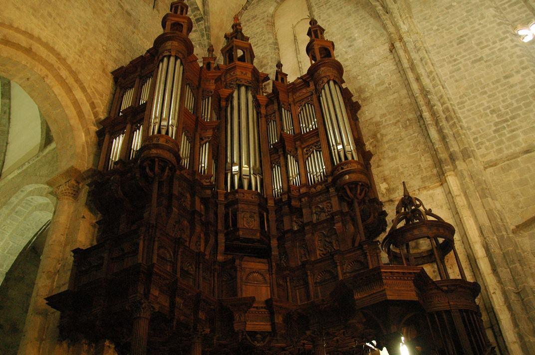 Orgue de la Catedral de Santa Maria de-Saint-Bertrand-de-Comminges