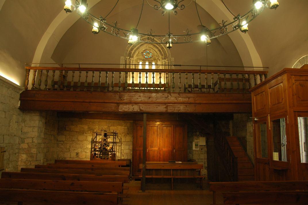 Part posterior de l'església de Sant Esteve de Betren