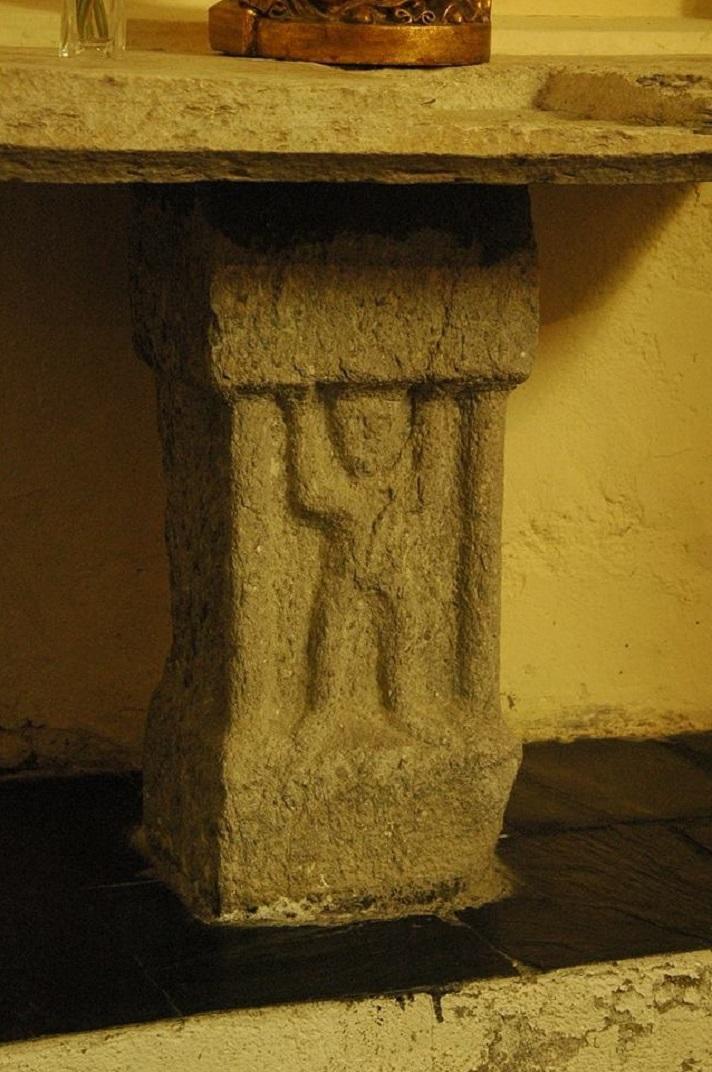 Peus d'altar de l'església de Sant Fèlix de Vilac