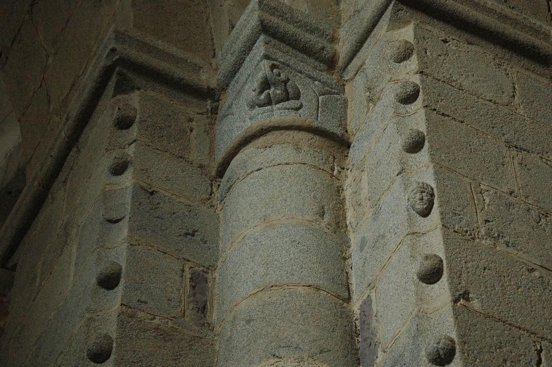 Pilar cruciforme de la Catedral de la Seu d'Urgell de Lleida