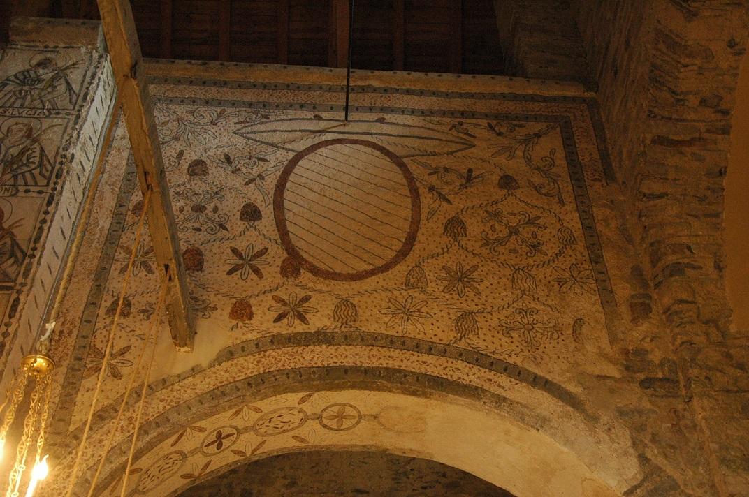 Pintura mural de l'església de Santa Maria de Cap d'Aran de Tredòs