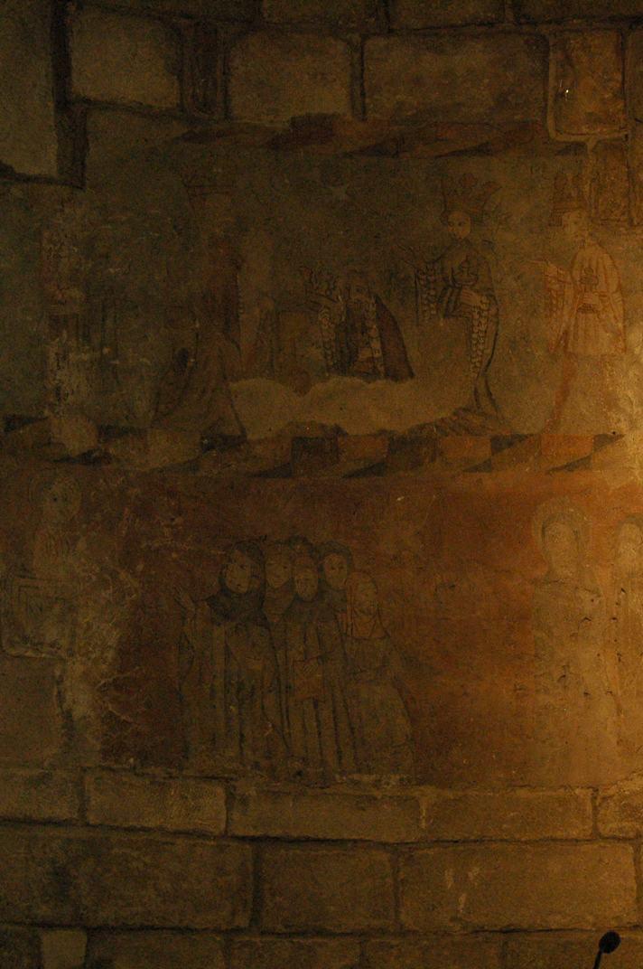 Pintures murals de l'església de la Purificació de Bossòst