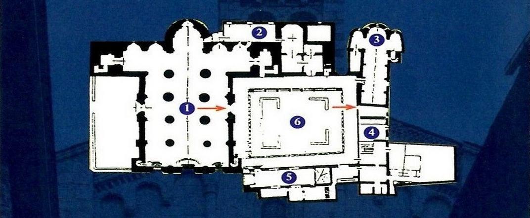 Plànol de la Catedral de la Seu d'Urgell de Lleida