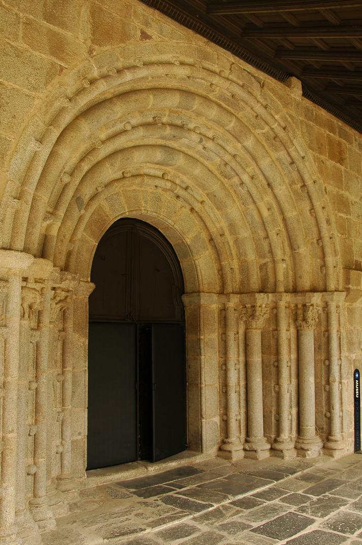 Portalada sud de la Catedral de Santa Maria de la Seu d'Urgell