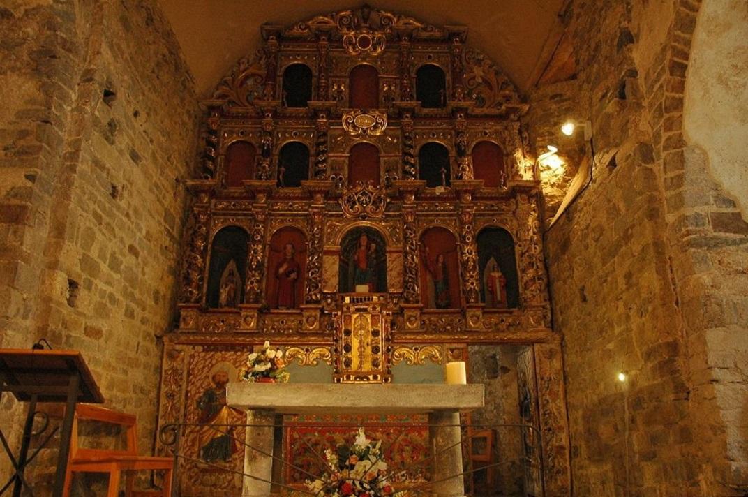 Retaule major de l'església de Santa Maria de Cap d'Aran de Tredòs