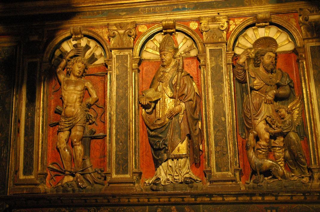 Saint-Bertrand-de-L'Isle de la Catedral de Santa Maria de-Saint-Bertrand-de-Comminges
