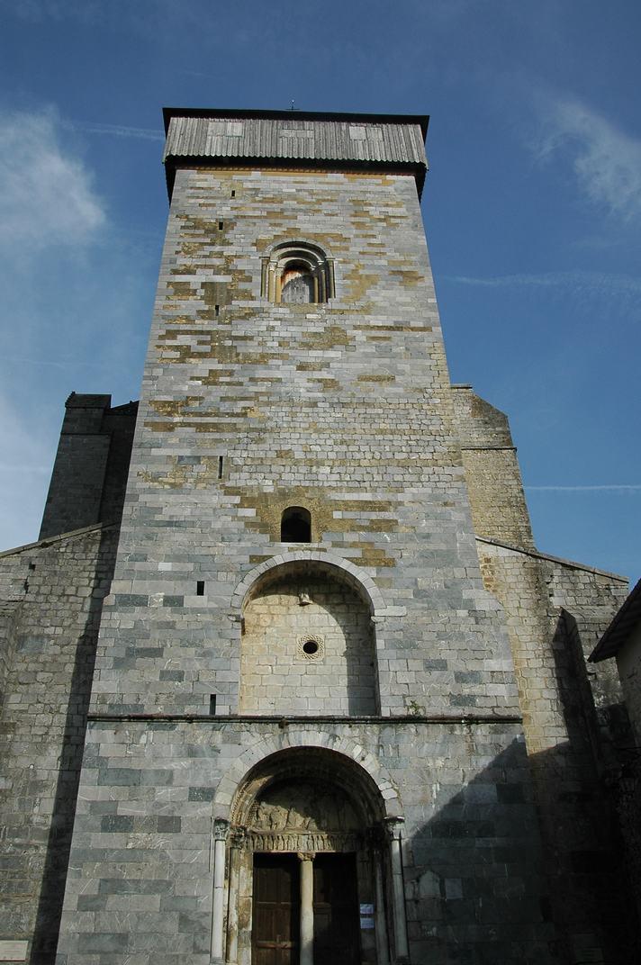 Torre campanar de la catedral de Saint-Bertrand-de-Comminges