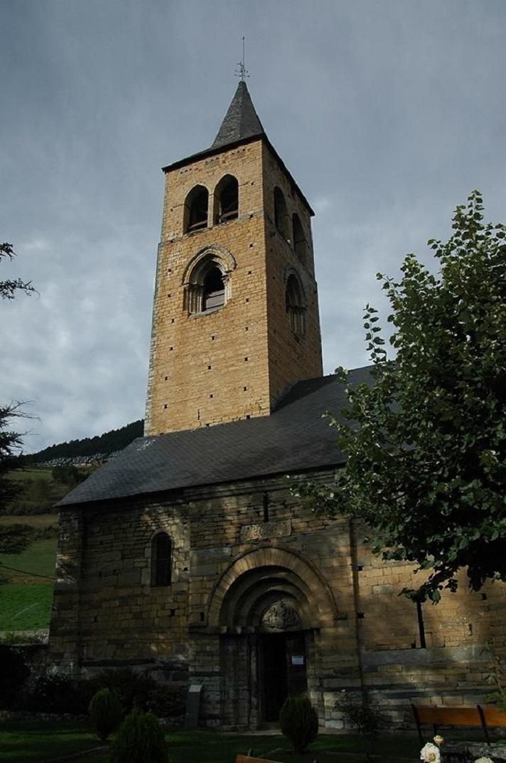 Torre campanar de l'església de Sant Fèlix de Vilac