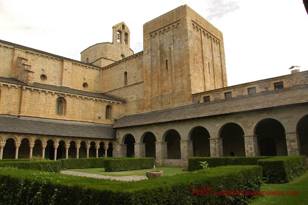 Torre de Sant Just de la Catedral de la Seu d'Urgell de Lleida