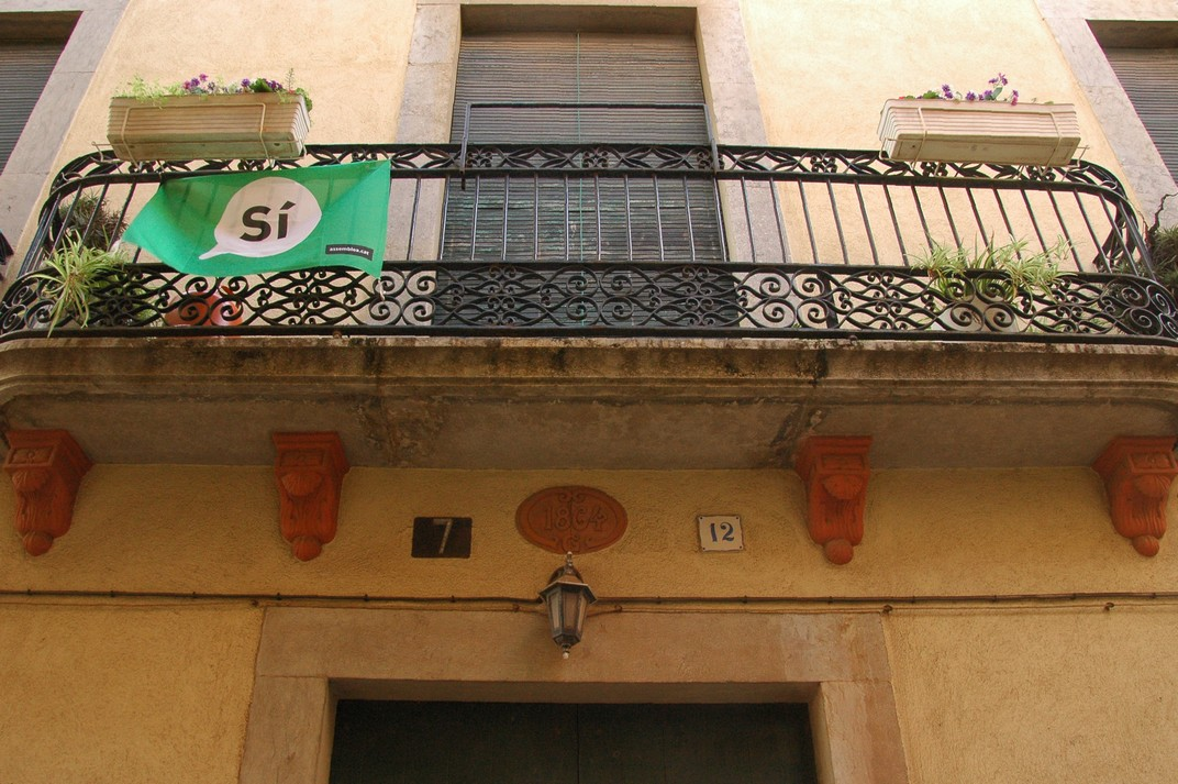 Balcó del carrer Viudes i Donzelles de Lloret de Mar