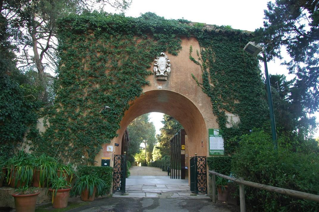 Entrada dels Jardins de Santa Clotilde de Lloret de Mar
