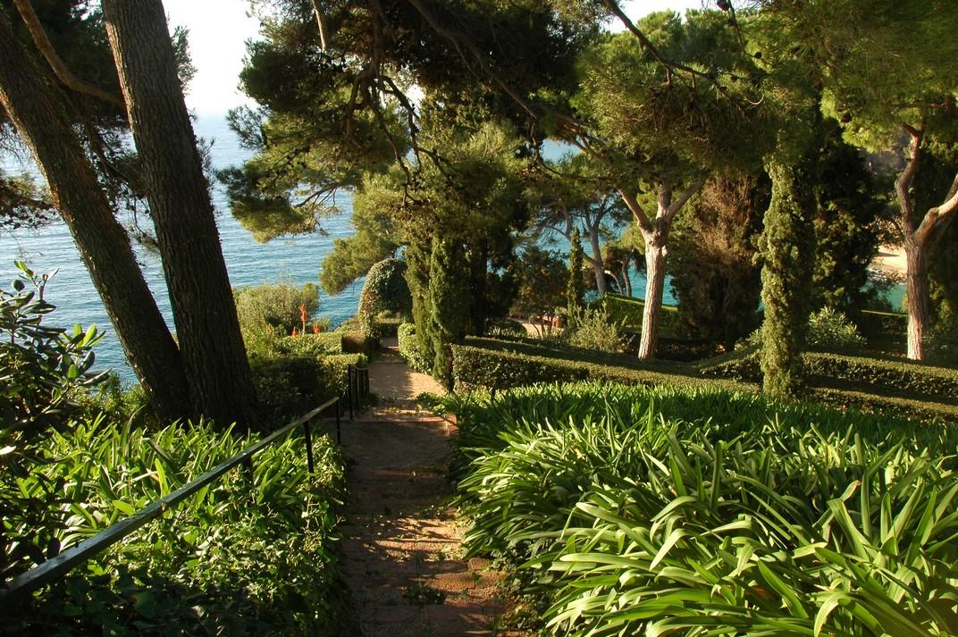 Mirador de la Boadella dels Jardins de Santa Clotilde de Lloret de Mar
