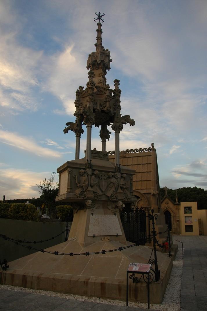 Panteó Casanovas-Terrats del Cementiri de Lloret de Mar