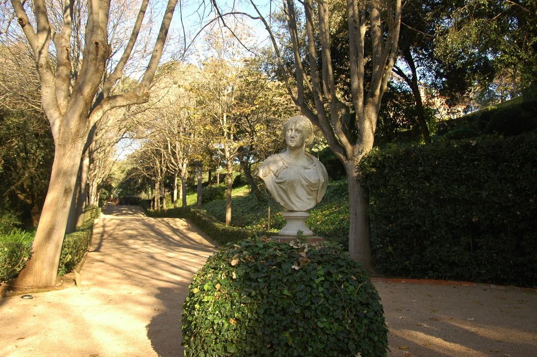 Plaça de la Benvinguda dels Jardins de Santa Clotilde de Lloret de Mar