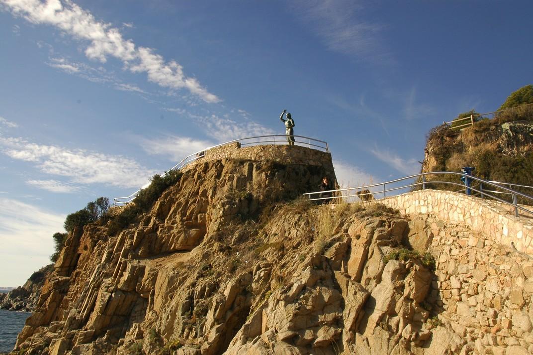 Punta d'en Rosaris de Lloret de Mar