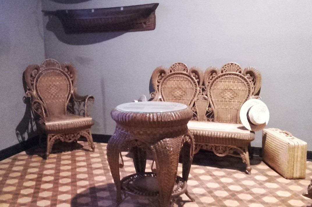 Recreació de les cases senyorials indianes de Lloret de Mar