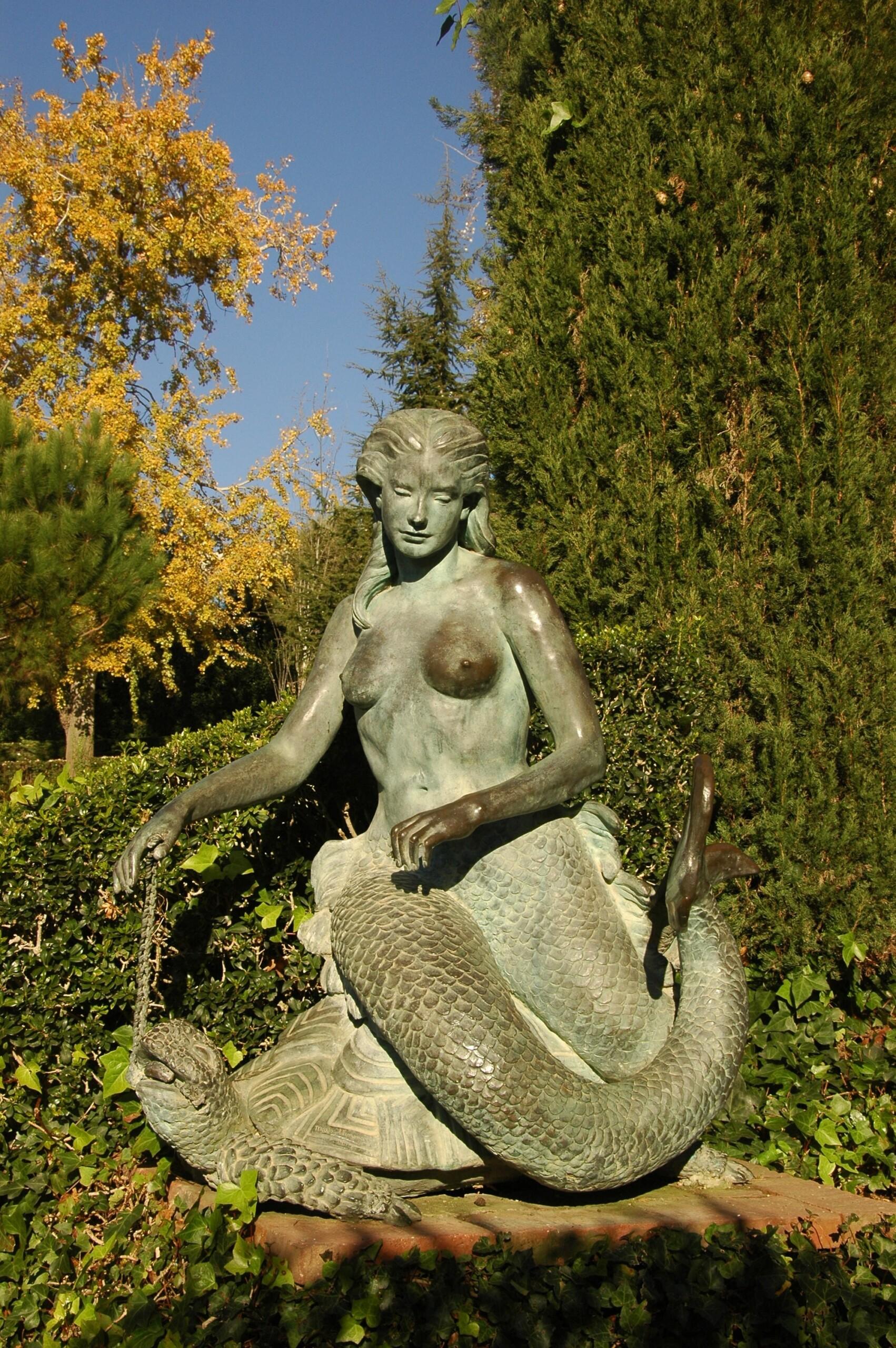 Sirena dels Jardins de Santa Clotilde de Lloret de Mar