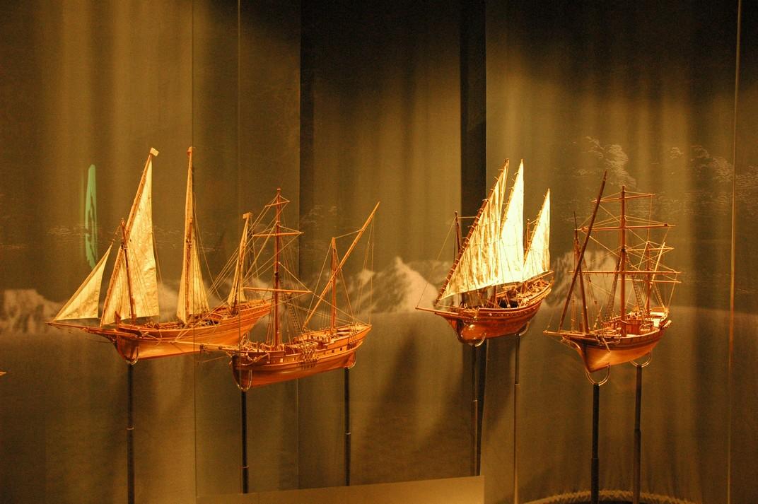 Vaixells del Museu del Mar de Lloret de Mar
