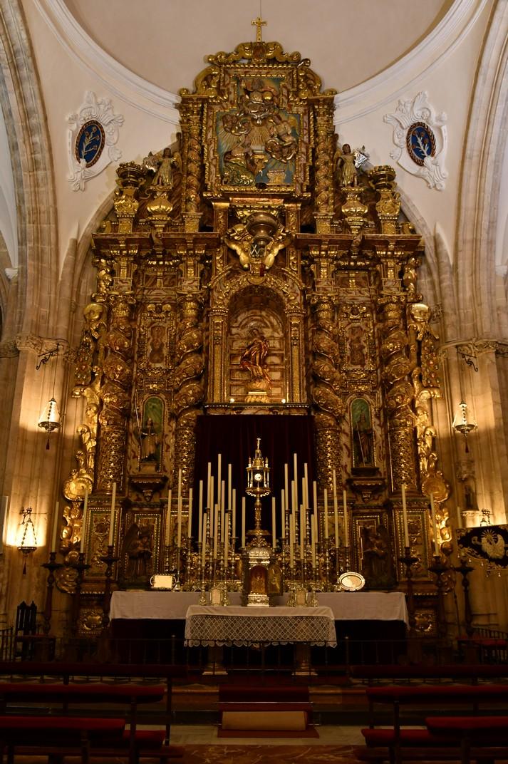 Altar del Sagrari de la Col·legiata de Santa Maria la Major de Ronda