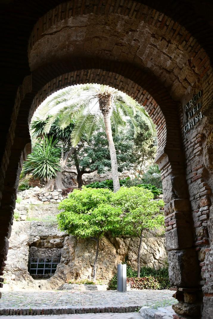 Arc de la torre de Crist de l'Alcassaba de Màlaga