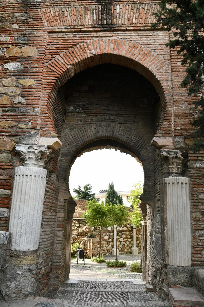 Arc de la Torre de les Columnes de l'Alcassaba de Màlaga