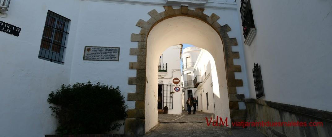Arc de la Villa en Vejer de la Frontera