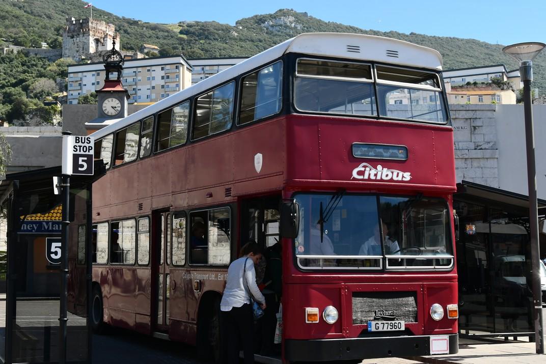 Autobús de Gibraltar