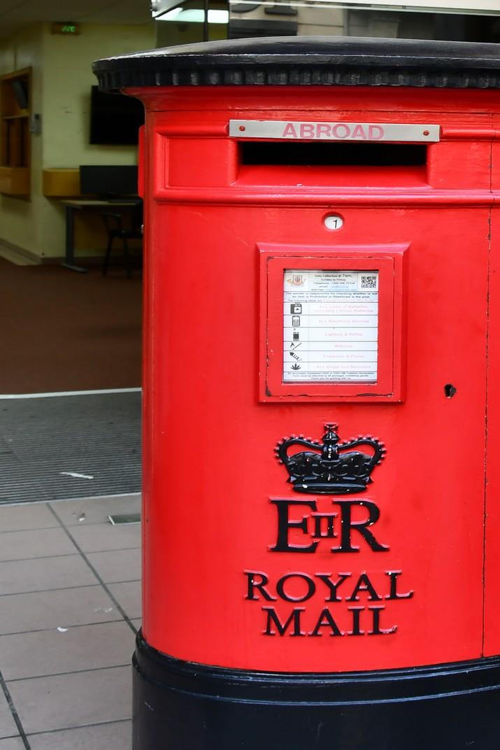 Bústia de correus de Gibraltar