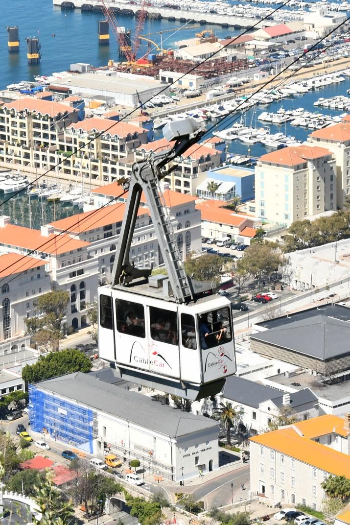 Cabina del telefèric de Gibraltar