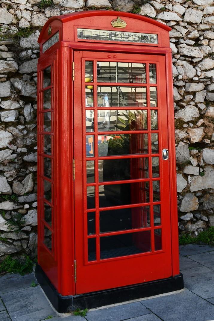 Cabina telefònica de Gibraltar