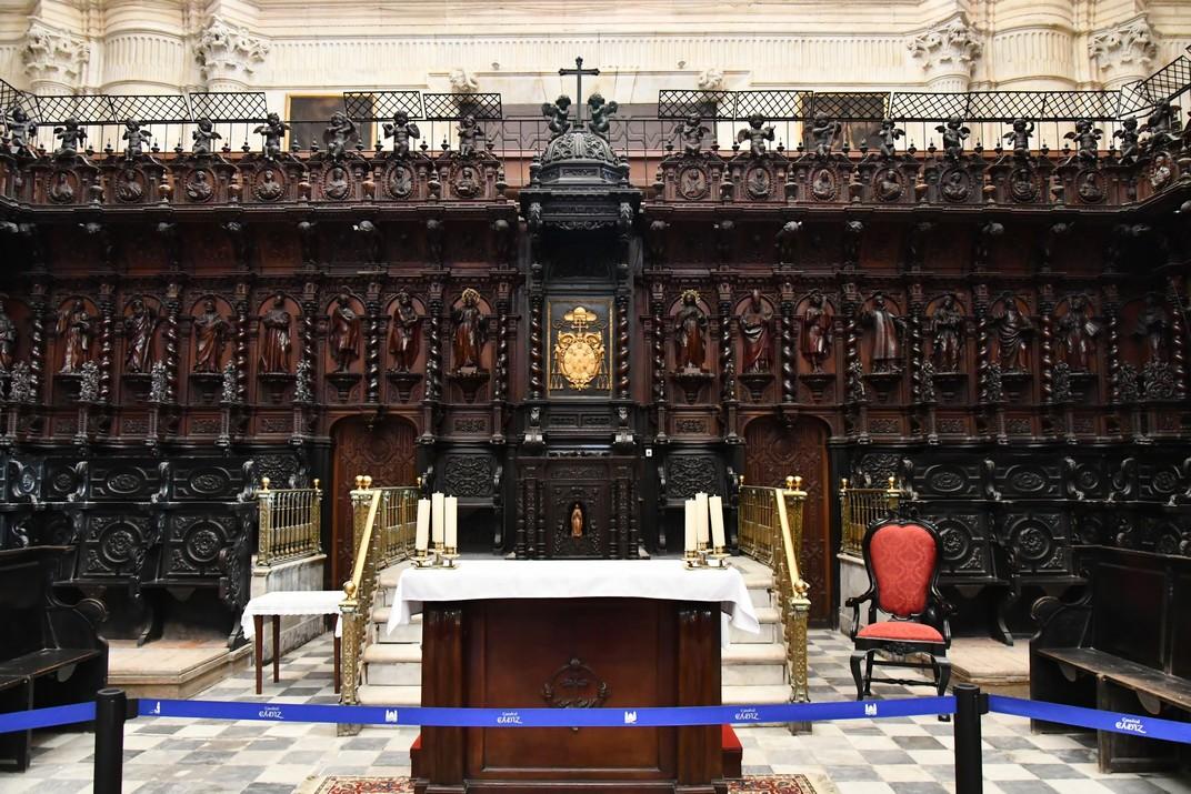 Cadirat del Cor de la Catedral de la Santa Creu de Cadis