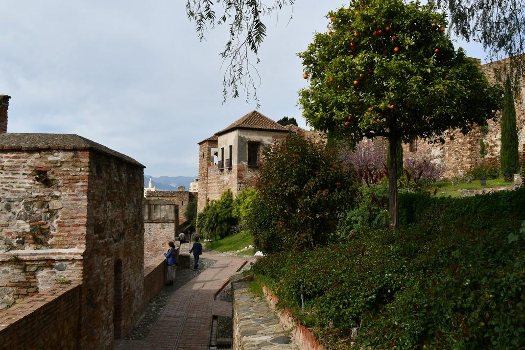 Camí de Ronda de l'Alcassaba de Màlaga