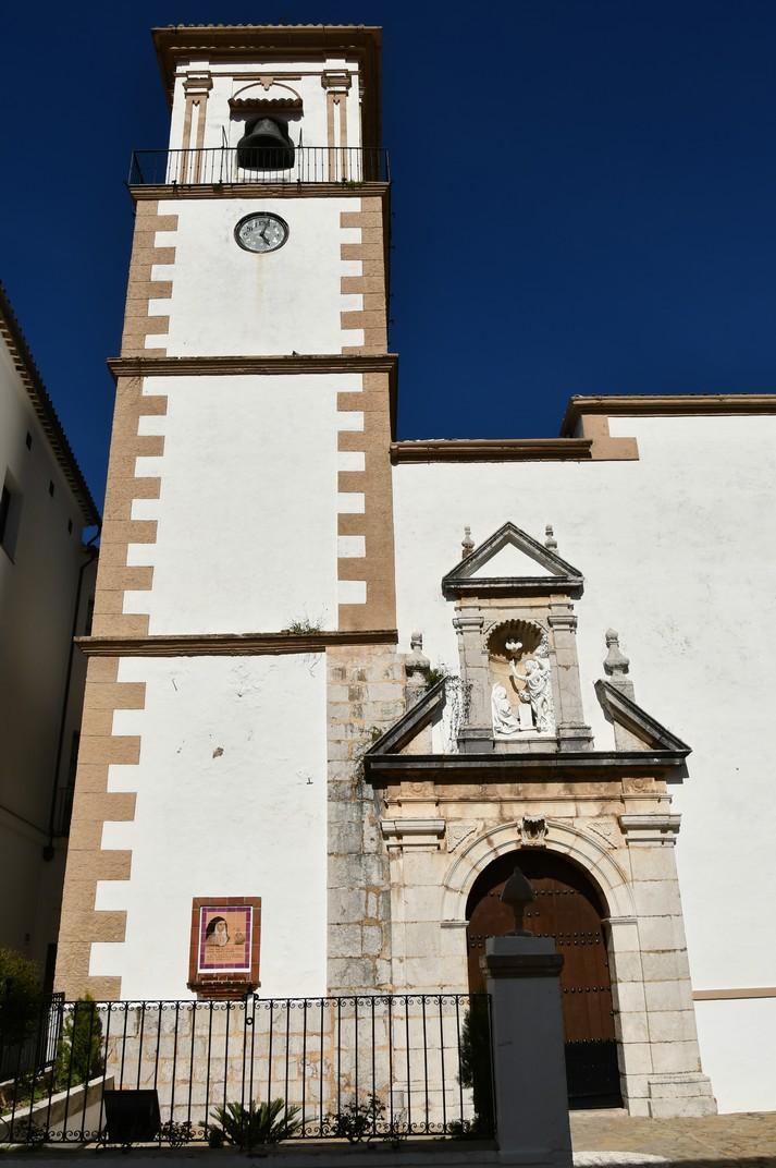 Campanar de l'església Nostra Senyora de l'Encarnació de Grazalema